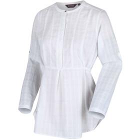Regatta Maladee Koszula Kobiety, white dobby